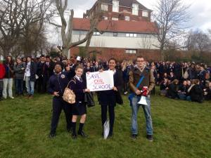 Strike at Prendergast Hilly Fields - 4th March